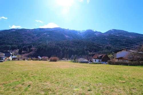 Ein idyllisches Grundstück in sonniger Lage und traumhaften Bergblick!