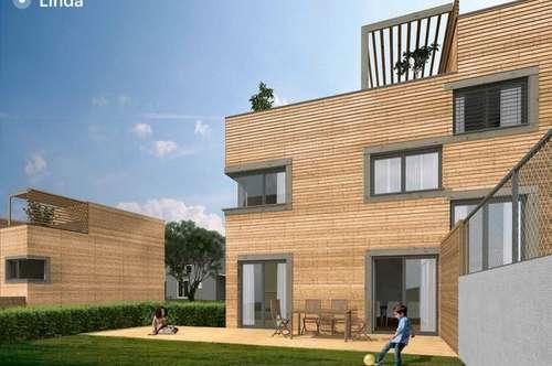 Reihenhausprojekt mit Ausblick in Wördern, Wohnbauförderung möglich!!