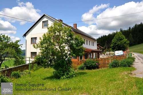 Großes Haus mit großem Grundstück, 2 getrennte Wohneinheiten möglich, in 4170 St. Oswald/Haslach