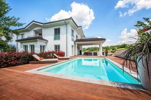 Villa mit Pool und tollen Ideen