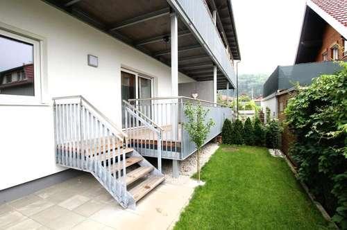 Ruhig gelegene neuwertige Gartenwohnung
