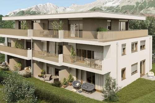 Neubau 2-Zimmer-Gartenwohnung Innsbruck Amras