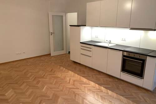 *Provisionsfrei* 2-Zimmer Nähe Belvedere Erstbezug nach Sanierung/Newly renovated 2-Room central location apartment