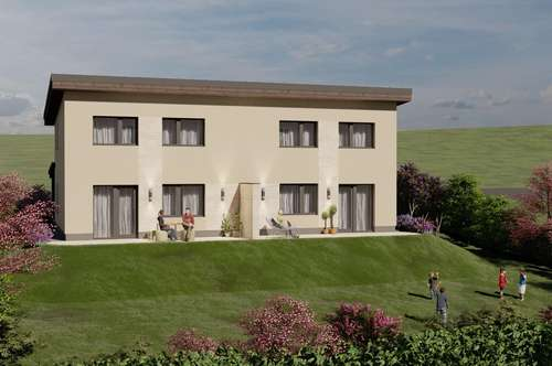 Neubau Doppelhaus mit Ausblick in Gnas