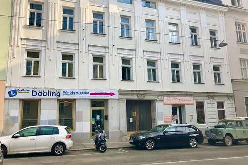 Flexibel einsetzbares Erdgeschoß-Geschäftslokal in Döblinger Toplage – ablösefrei in frisch renoviertem Gründerzeithaus