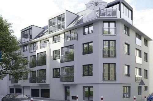 Moderner Neubau - Erstbezug - 3 Zimmer Wohnung mit Balkon