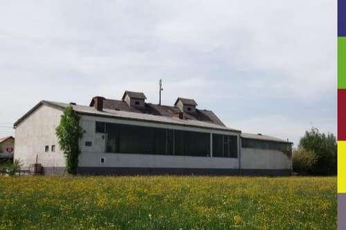 Lagerhaus, Werkstätte und Lagerhallen auf 7.170m² Betriebsbaugebiet