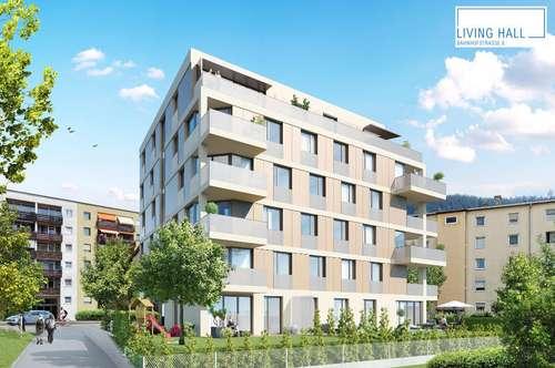 LIVING HALL bietet Ihnen bezaubernde 4-Zimmer-Wohnungen