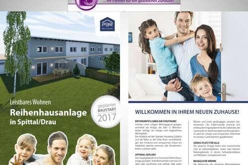 Leistbares Wohnen in Spittal/Drau! Neue Reihenhausanlage mit 12 Einheiten - Ponau