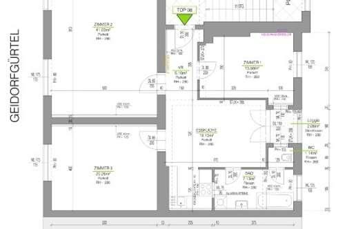 PROVISIONSFREI FÜR DEN MIETER! Sanierte 3-Zimmerwohnung mit Loggia in Geidorf, direkt bei KF-Uni!