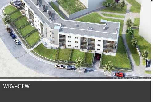ERSTBEZUG: Zwei-Zimmer-Wohnung mit Loggia in Nebau