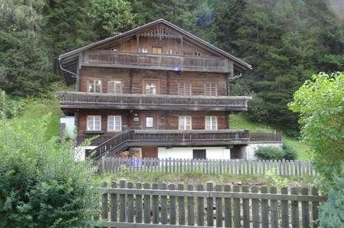 originales Holzhaus im Villgratental