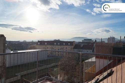 3 Zimmer Wohnung mit großer Terrasse in ruhiger und zentraler Lage - Radetzkystraße 1-3 - Top 11