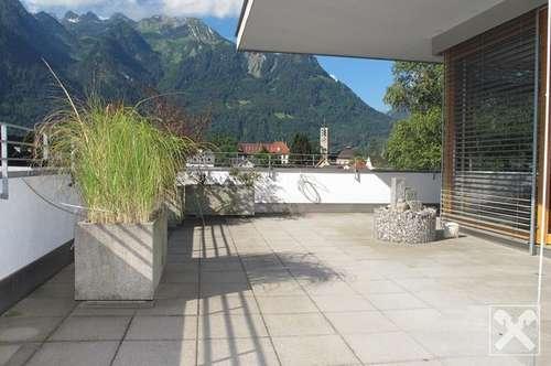 Terrassenwohnung in Bludenz mit Bergsicht