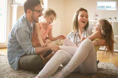 Für Familien: 4-Zimmer-Gartenwohnung zu kaufen