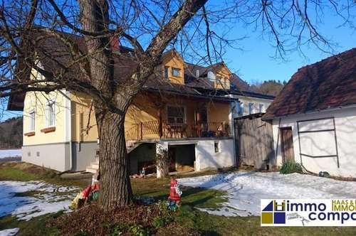 Ehemaliges Gasthaus, ca. 290m² Wfl., ca. 1861m² Grund - Arbeiten in der Stadt – Wohnen auf dem Land!