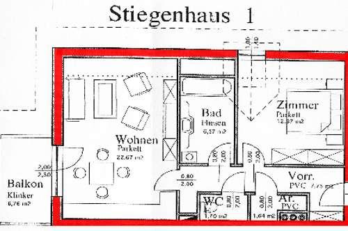 Mietwohnung Laakirchen Zentrum - Provisionsfrei