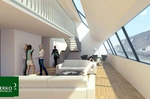 Neuwertige Dachwohnung auf 2 Etagen