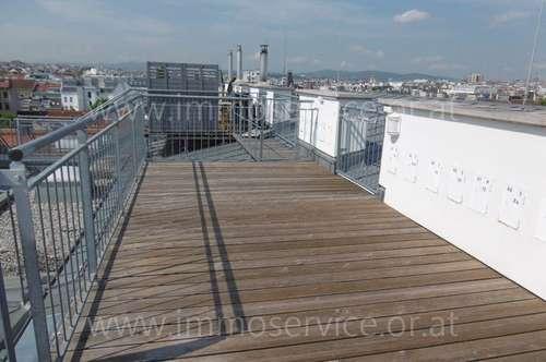 Cityblick - Erstbezug - Top Terrassenapartment beim Schlossquadrat!