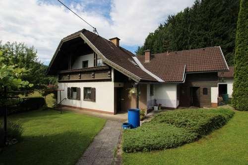 Einfamilienhaus in ruhiger Sonnenlage von Schiefling am Wörthersee!