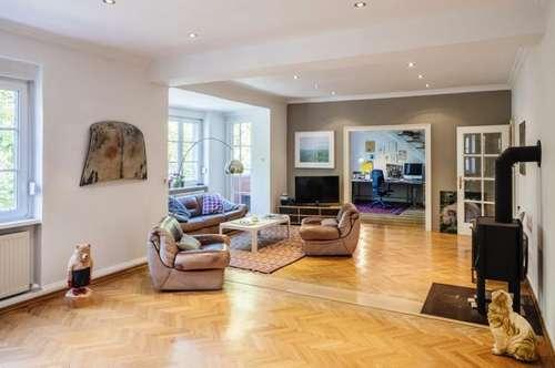 Riesige Maisonette (=anteilige Haushälfte) - tolle Künstlerwohnung