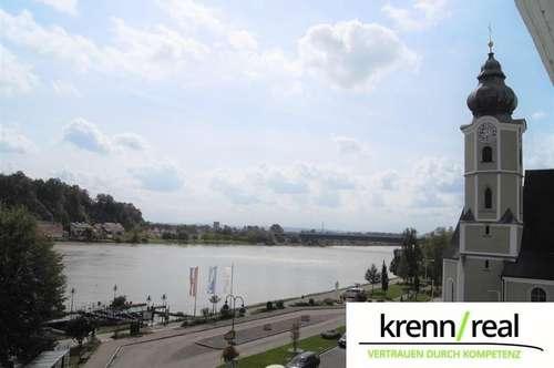 Helle Wohnung mit Donaublick