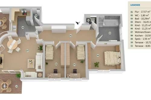 Heller Wohntraum mit Garten