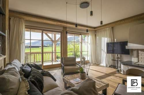 Alpine Suite | Elegantes 4-Zimmer-Apartment in der Kirchberger Bergwelt