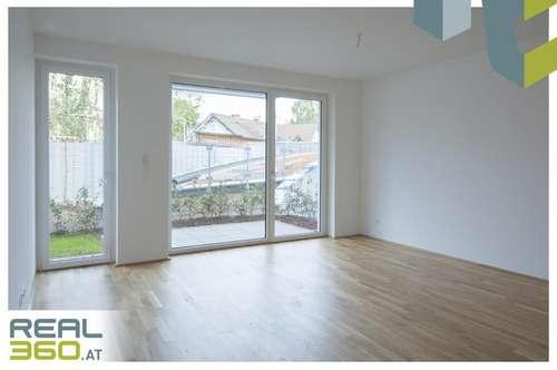 Gartenwohnung mit pefektem Grundriss in einer NEUBAU-Wohnanlage in Linz zu vermieten!! ERSTBEZUG!