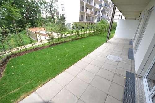 Puntigam - Brauquartier - Erstbezug - 53m² - 3 Zimmer Gartenwohnung - große Terrasse