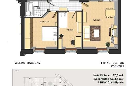 Werkstraße / Schöne Wohnung zu vermieten!