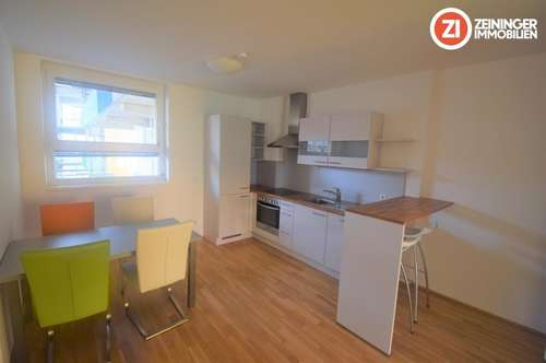Attraktives 2-ZI Appartment - vollmöbliert - mit Balkon - Nähe MED Uni