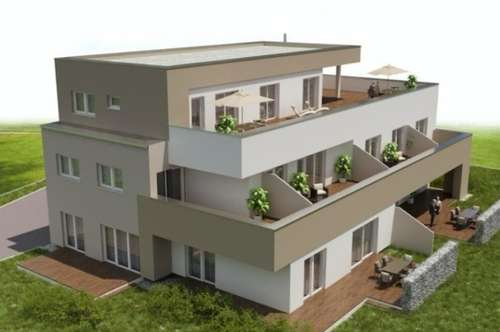 3 -Zimmer Neubauwohnung mit  Eigengarten/ West-Ausrichtung/ Straßgang/ provisionsfrei für den Käufer!