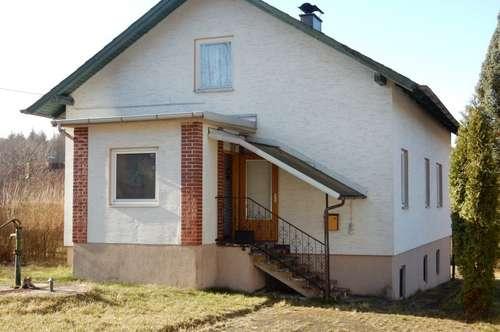 Einfamilienhaus in ruhiger Siedlungslage in Litschau
