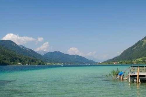 Investmentgelegenheit! Touristisches Entwicklungsprojekt Seeliegenschaft in Kärntner Naturparadies