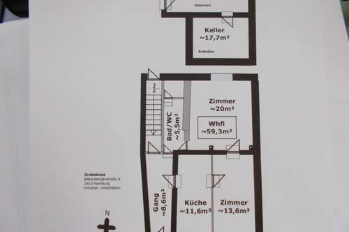 Hainburg an der Donau Bezirk Bruck/Leitha 2 Gärten 2 Familienhäuser mit extra Eingänge