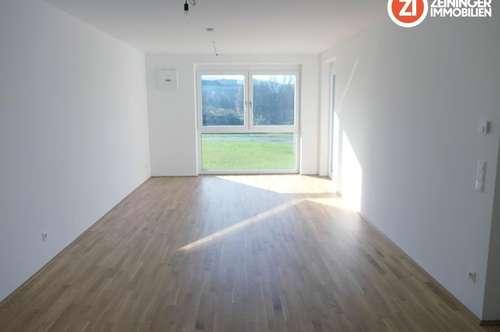Geförderte 3-Zimmer-Wohnung inkl. Tiefgaragenstellplatz in bester Ruhelage