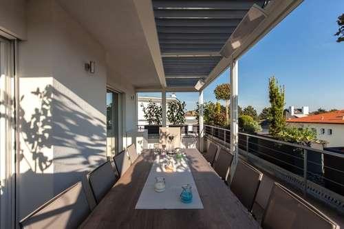 Exklusiv ausgestattete DG Wohnung mit großer Dachterrasse