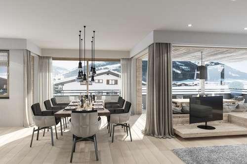 Modern-Alpine Luxus Wohnung in Kirchberg