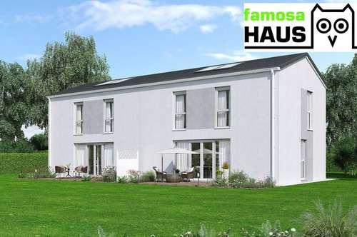 Wohnbaugeförderte Doppelhaushälfte mit Vollunterkellerung und Grundstück. TÜV-Austria baubegleitet!
