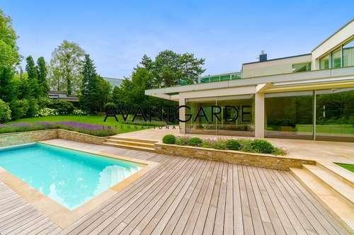 Moderne Villa in Grinzinger Bestlage