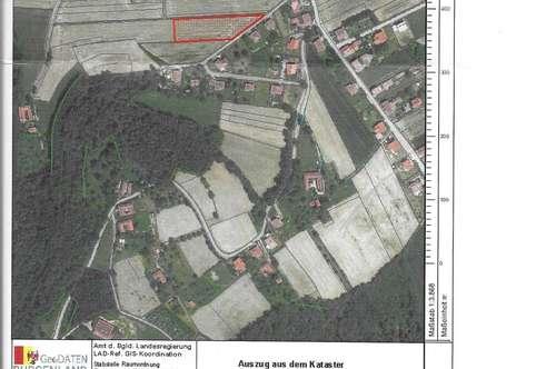 Grundstück 4100 qm in bester Lage