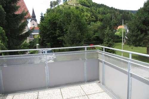 Sehr gepflegte Eigentumswohnung mit Balkon in Griffen