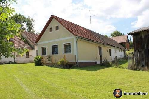 Landhaus mit Zusatzgebäuden in Ruhelage!
