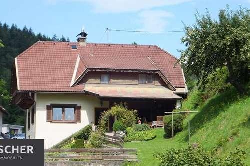 Wohnhaus in Ruhe- und Panoramalage