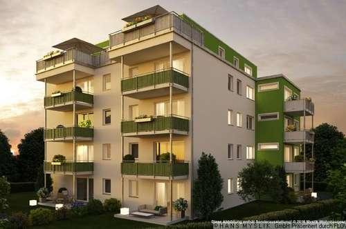 3-Zimmer, sonniger Balkon, Erstbezug!