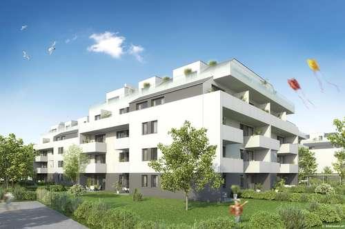 3 Zimmer Wohnung mit über 450 m² Gartenfläche