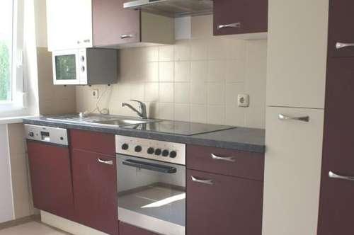 Großzügige 65m² Wohnung mit Küche, Balkon mit schöner Aussicht & Garage - absolute Ruhelage im Grünen - provisionsfrei!