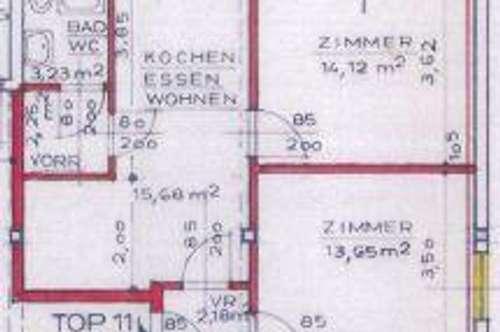 8160 Weiz: Schöne 2 Zimmerwohnung