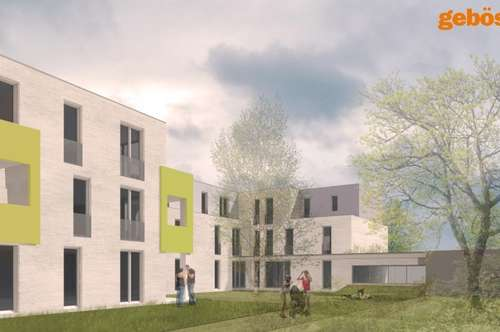 29 geförderte Genossenschaftswohnungen mit Freiflächen